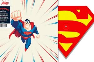 Саундтрек к мультфильму о Супермене выйдет на виниловой пластинке в форме логотипа героя